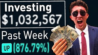 I Gambled $10,000 In The Stock Market For 30 Days and Made $____