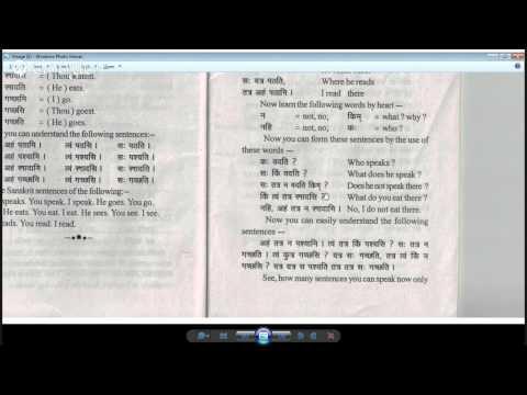 Sanskrit class 2