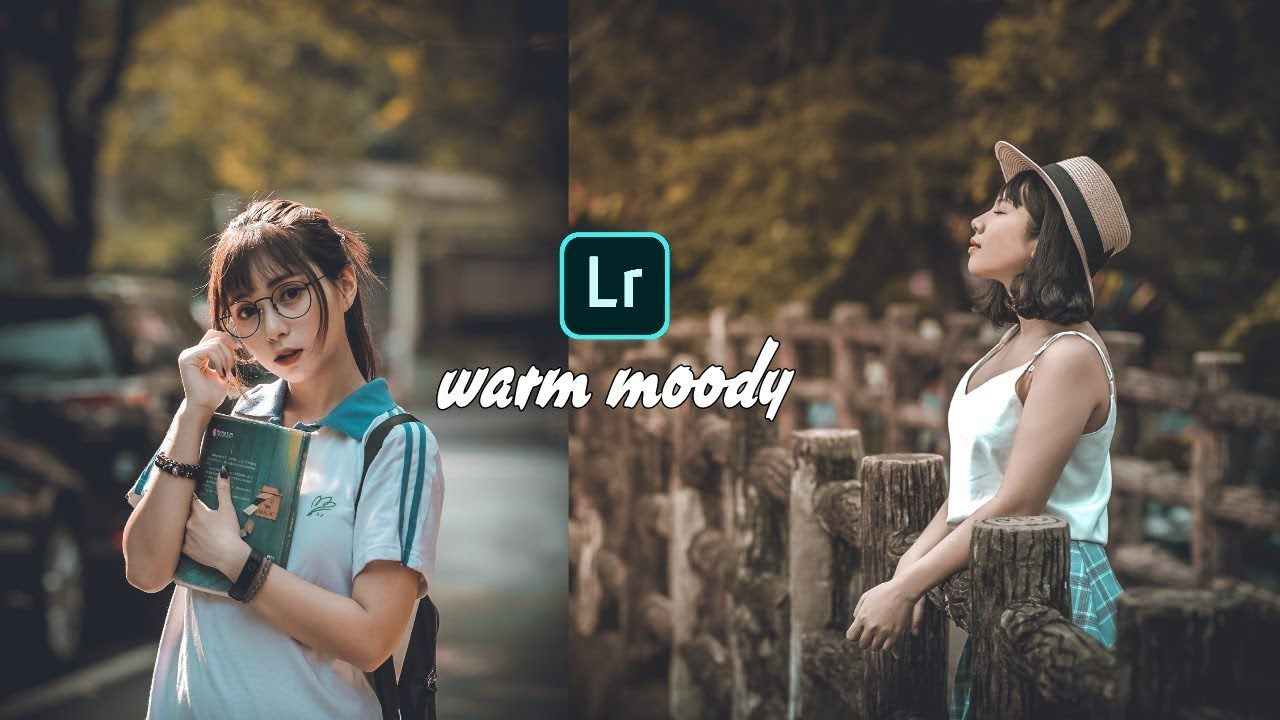 How to Edit Warm Moody In Lightroom Mobile -Free Lightroom Mobile Preset