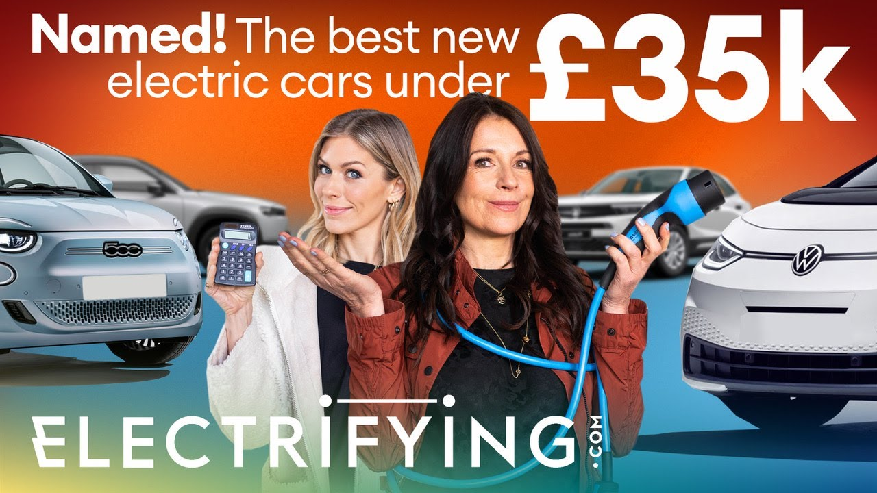 Best electric cars under £35,000 – which EVs are Plug-in Car Grant winners? / Electrifying