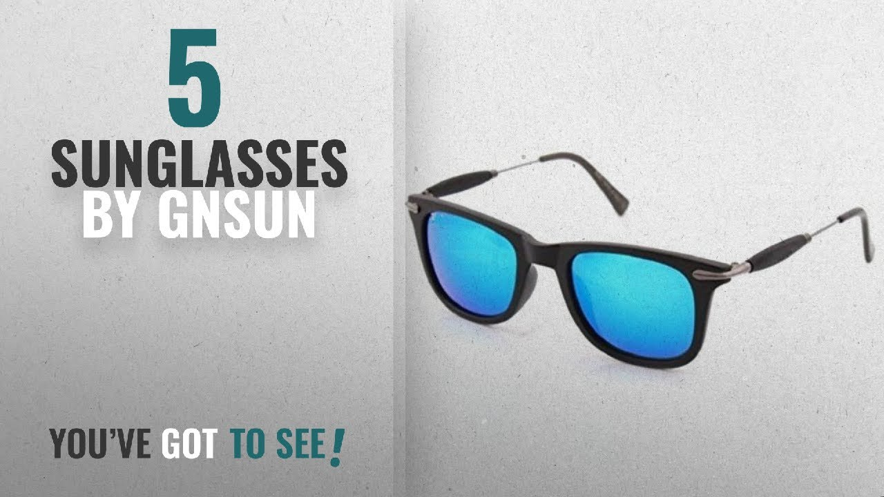 d7b04eae3db0 Top 10 Gnsun Sunglasses  2018   GNSUN Aqua Blue 2148 Unisex Model ...