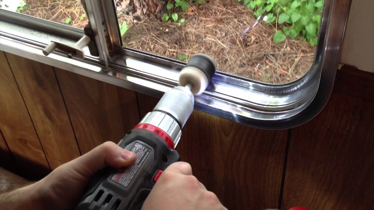 Polishing Aluminum Windows Youtube