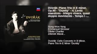 "Dvorák: Piano Trio in E minor, Op.90 - ""Dumky"" - 4. Lento maestoso - Allegro vivace, quasi..."