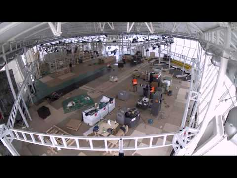 The making of our stand at the Farnborough Internatinal Airshow 2014