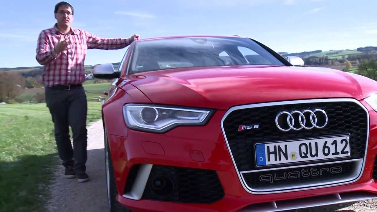 audi rs6 avant: audis lamborghini-kombi mit 560 ps - youtube
