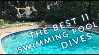 The Best 11 Swimming Pool Dives