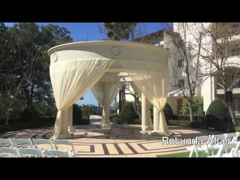Monarch Beach Resort - Dana Point -Monarch Beach Rotunda - Pipe & Drape OC
