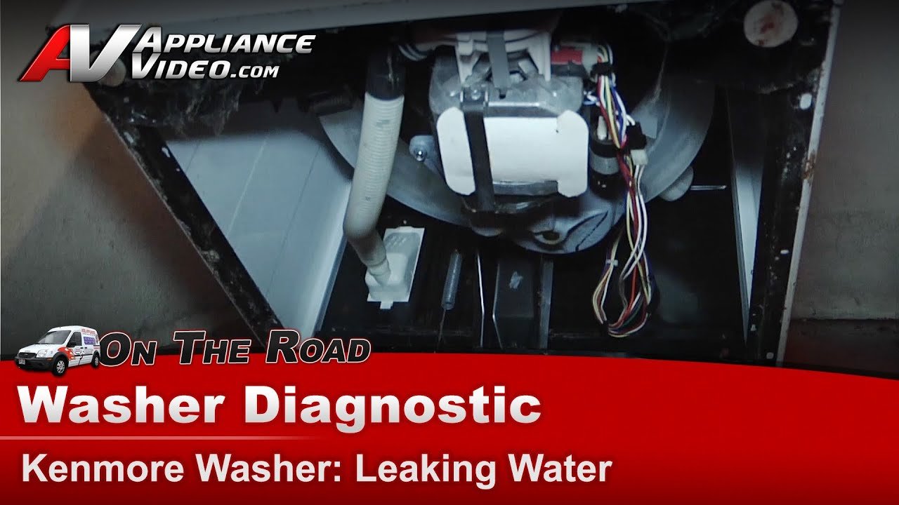 Whirlpool Washing Machine Motor Wiring Kenmore Roper Washer Diagnostic Leaking Water On Floor