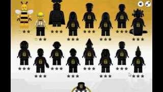 Лего Минифигурки игра Создай фигурку (Lego Minifigures )