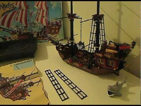 Building The Lego 6243 Brickbeards Bounty Pirate Ship Youtube