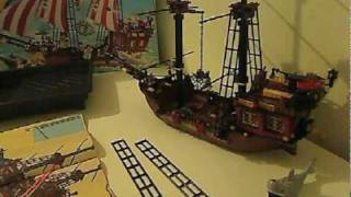 Building The Lego 6243 Brickbeard's Bounty Pirate Ship