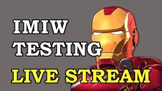 Iron Man (Infinity War) Testing | Marvel Contest of Champions Live Stream