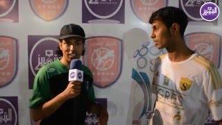 لقاء مع لاعب فريق سانتوس سعد صافي