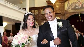 Coptic Orthodox Wedding Of Wasfy Nancy