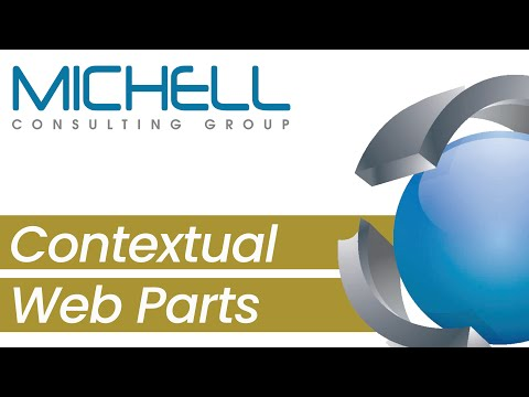 Contextual web parts and IA in SX.e 10x