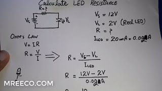 How to Calculate LED Resistance - Complete Tutorial in HINDI/URDU
