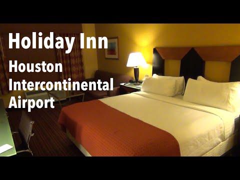 Hotel Room Tour - Holiday Inn Houston Intercontinental Airport