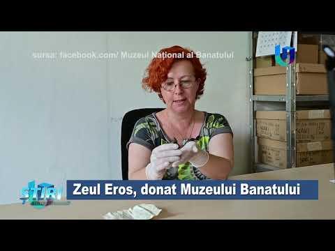 TeleU: Zeul Eros, donat Muzeului Banatului