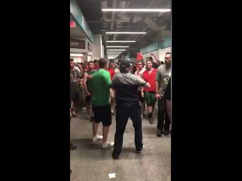 Miami, Notre Dame Fans Brawl During Saturday's Game