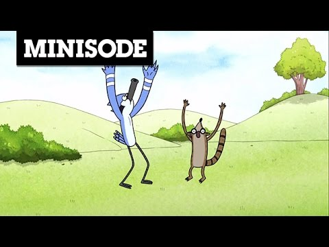 Ooohh Regular Show Minisode Cartoon Network Youtube