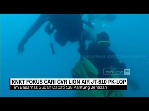 KNKT Fokus Cari CVR Lion Air JT-610 PK-LQP Mp3