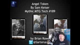 Angel Token By Sam Keiser - Mythic MTG Tech # 189