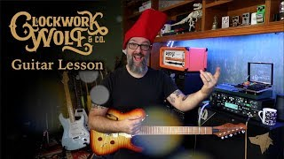 Clockwork Wolf & Co Lead Guitar Lesson - Learn Two Full Solos