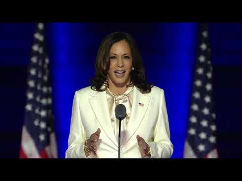 Vice-President Elect Kamala Harris victory speech