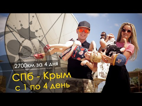 Как доехать до крыма из санкт петербурга