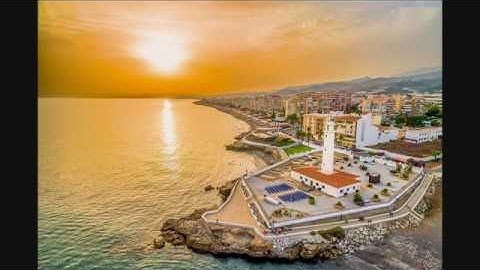 Torrox Costa, Spain, Costa del Sol, Aerials Drone Footage  DJI MAVIC PRO