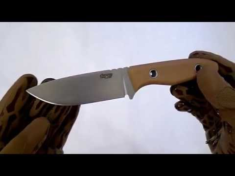 """Video review TR-13 knife by """"TRC Knives""""."""