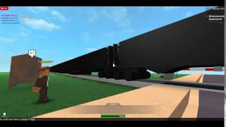 Roblox CSX coal train driveby