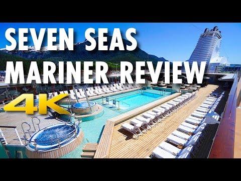 Seven Seas Mariner Tour & Review ~ Regent Seven Seas Cruises ~ Cruise Ship Review [4K Ultra HD]