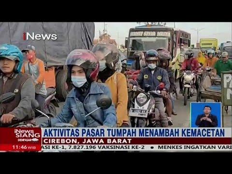 Jalur Pantura Mulai Dipadati Pemudik, Cirebon - INews Siang 04/05