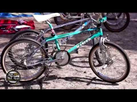 Awesome Vintage BMX Bike On Display