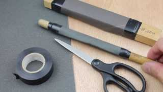 Emery Paper  & Buff Sticks.  Tips & Tricks. Demo & Review in HD