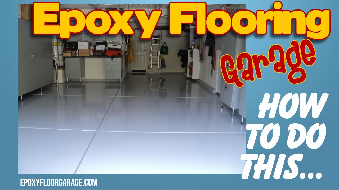Blue Garage Floor Coating In Orange County Ca