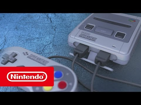 Nintendo Classic Mini: Super Nintendo Entertainment System - The console of a generation!