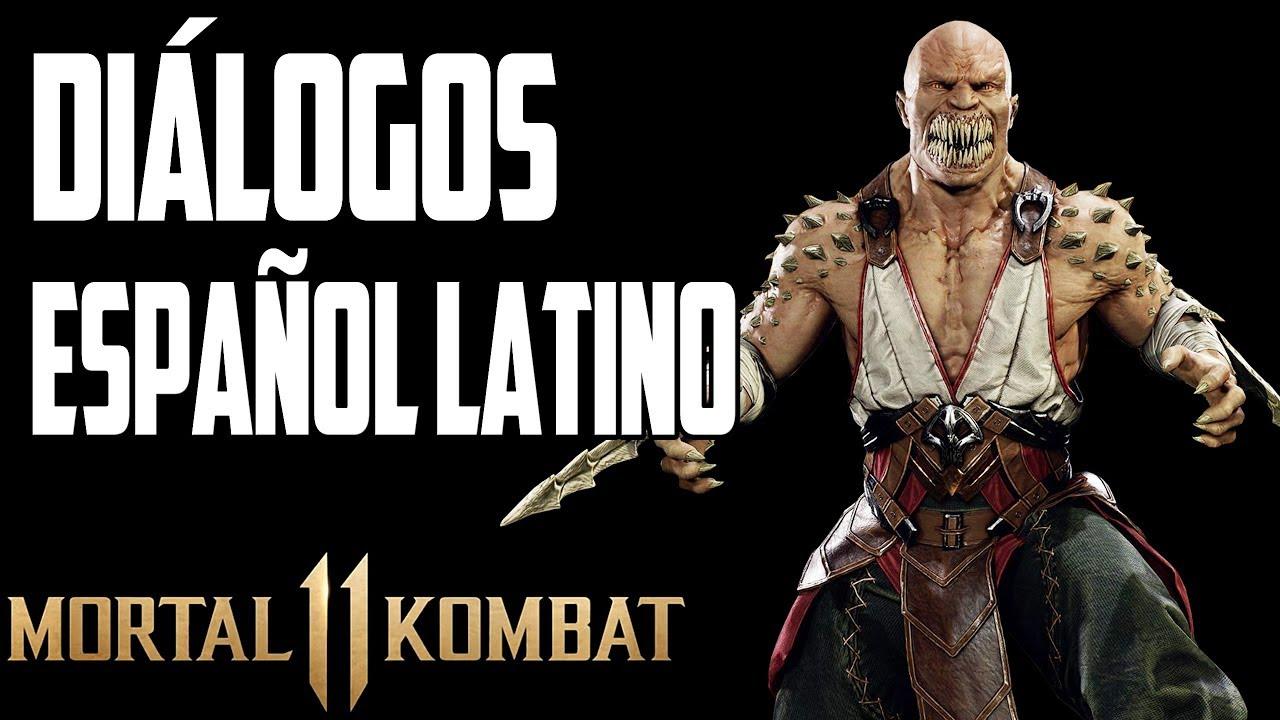Mortal Kombat 11 | Diálogos en Español Latino | Baraka | Versión Beta Online |