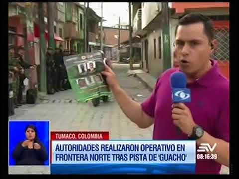 Ecuador y Colombia realizan operativo en frontera norte tras pista de 'Wacho'