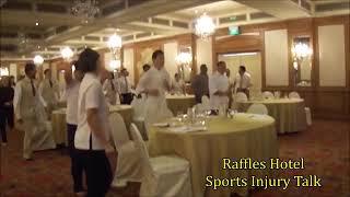 Wellness Philosophy Pte. Ltd. Raffles Hotel Sports Injury Talk Thumbnail
