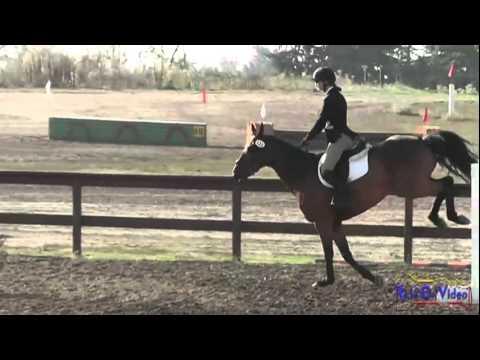 122S Emma Dunn JR Beginner Novice Stadium Jumping at Ram Tap Horse Trials Oct. 2011