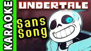 "UNDERTALE SANS SONG Instrumental / Karaoke ► ""Judgement"""