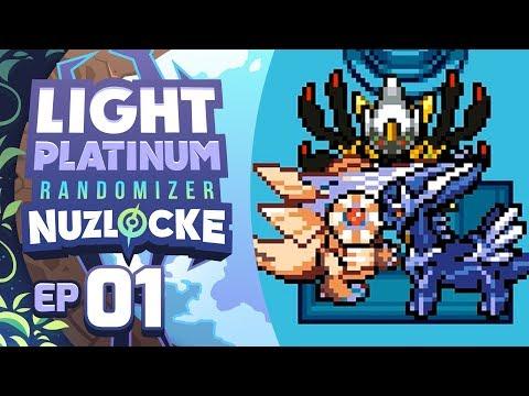 LEGENDARY POKEMON ALREADY?! - Pokémon Light Platinum Randomizer Nuzlocke w/ Supra! Episode #01