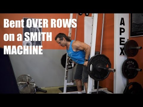 How to Bent Over Row on the Smith Machine