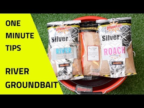 River Groundbait Mix - One Minute Fishing Tips