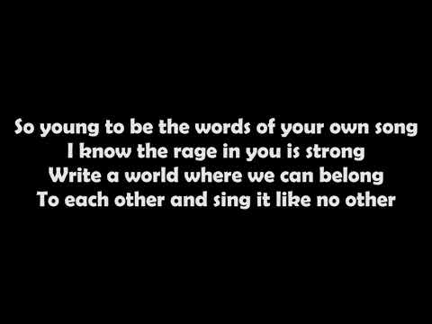 U2 Love Is Bigger Than Anything In Its Way (Lyrics)