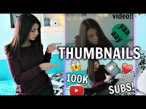 How to Make a Thumbnail for YouTube Videos - My Tips!