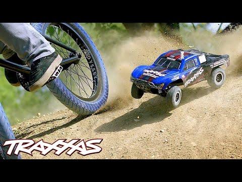 RC vs. BMX Freestyle | Traxxas Slash 4X4