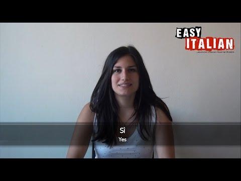 Tiếng Ý không khó: học các câu giao tiếp cơ bản